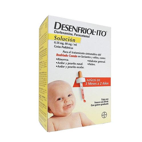 DESENFRIOLITO  SOLUCIÓN PEDIATRICO  30ML