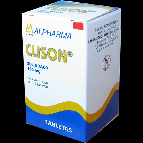 CLISON TABLETAS  200MG C/20