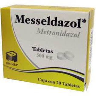 MESSELDAZOL TABLETAS  500MG C/20