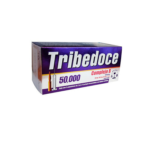 TRIBEDOCE 50,000  INYECTABLE  C/5