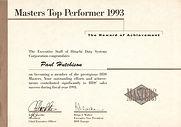 Top performer award