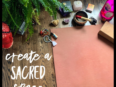 Create a practice space at home