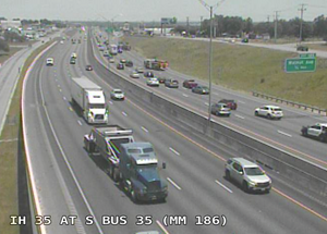 TRAFFIC ALERT: Four car accident on I-35 causing long delays