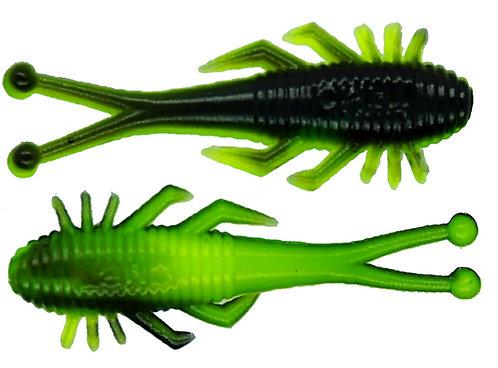 "2"" - Chartreuse Black"