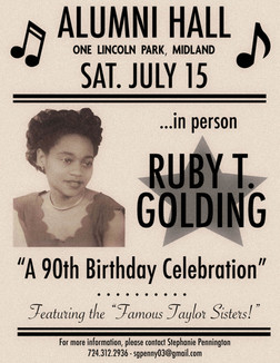 Ruby T. Golding: A 90th Birthday Celebration