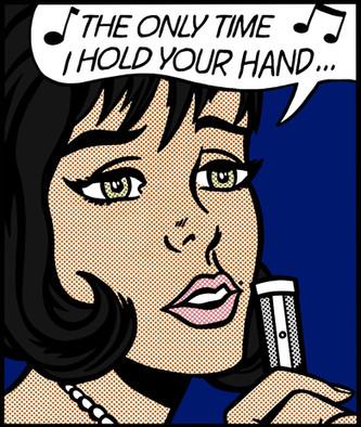 In My Bed - Lichtenstein x Winehouse