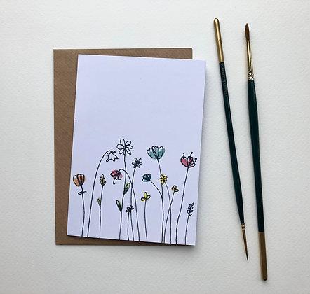 Wild Meadow Card