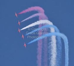 Red Arrows by Grace Glaister