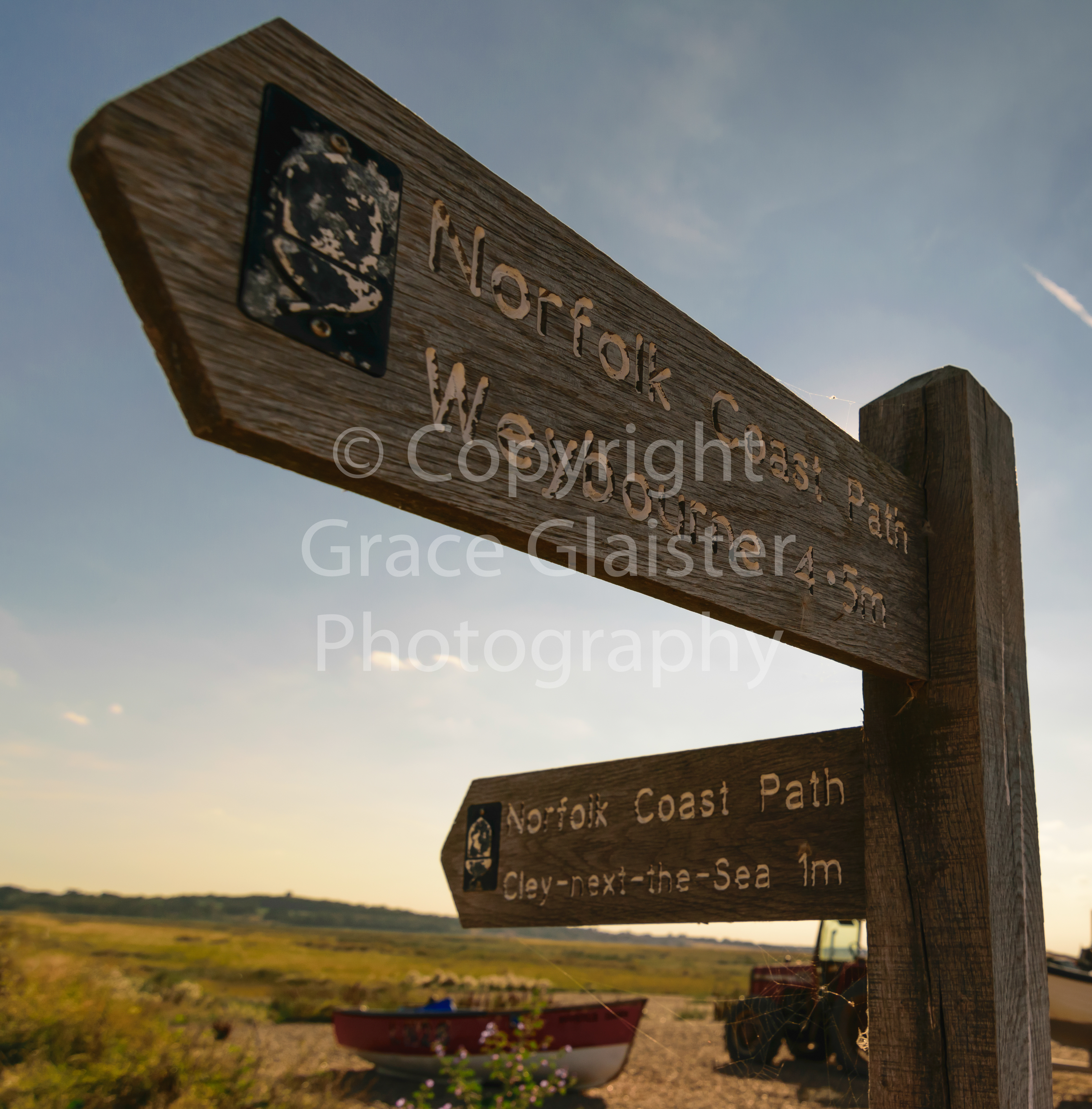 Footpath Sign by Grace Glaister