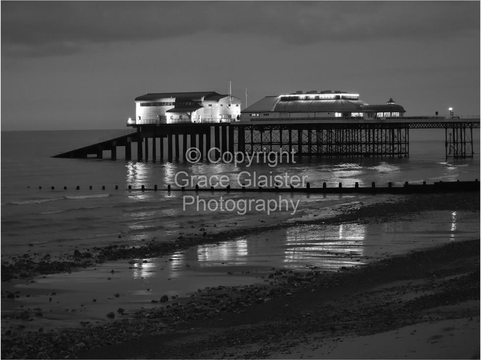 Cromer Pier Reflections by Grace Glaister