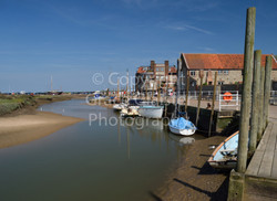 Blakeney Harbour by Grace Glaister