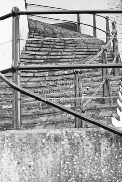 Sheringham Steps by Grace Glaister