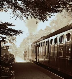 The Last Train by Grace Glaister