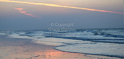 Sea Sunset by Grace Glaister