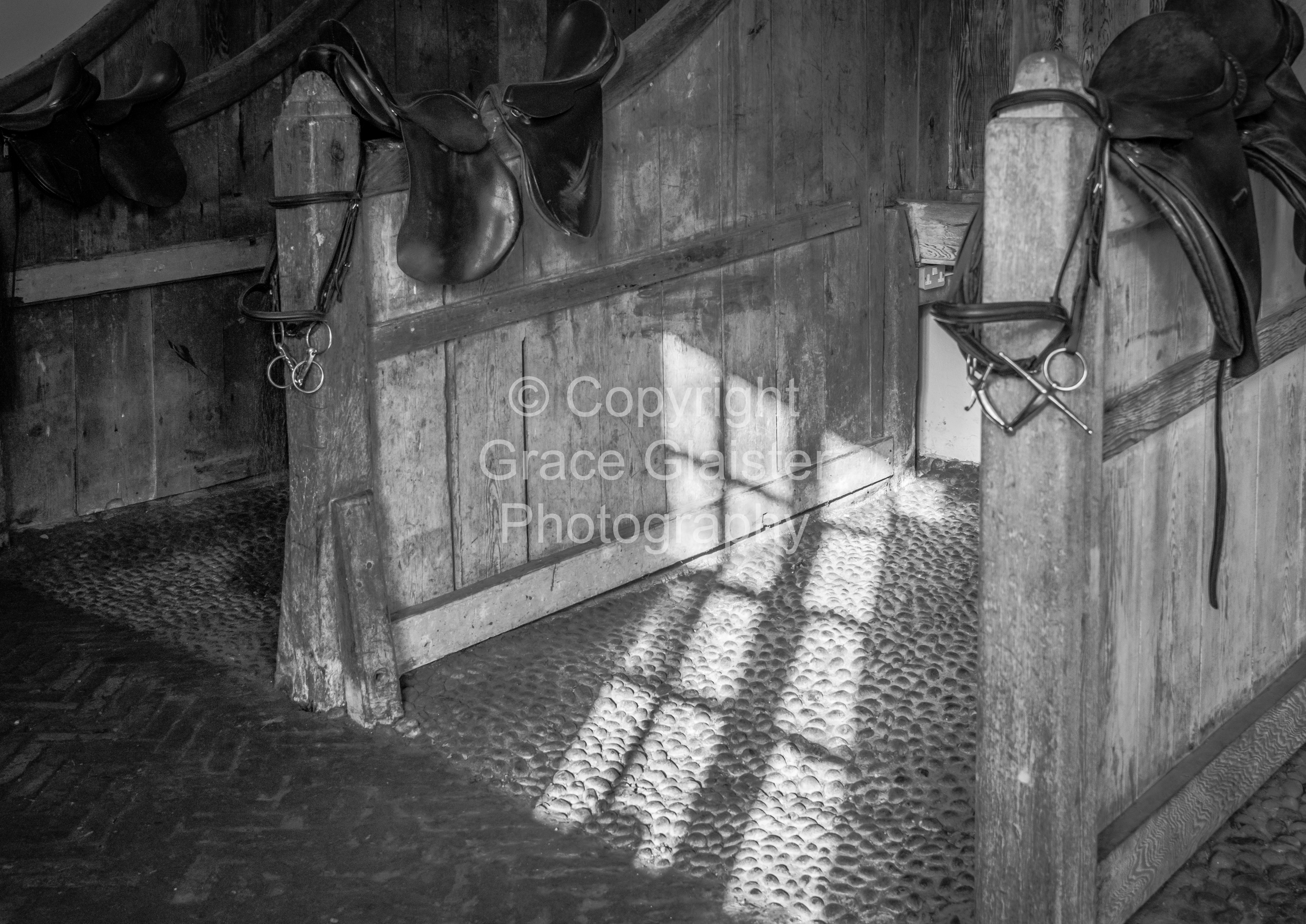 Stables at Felbrigg Hall by Grace Glaister