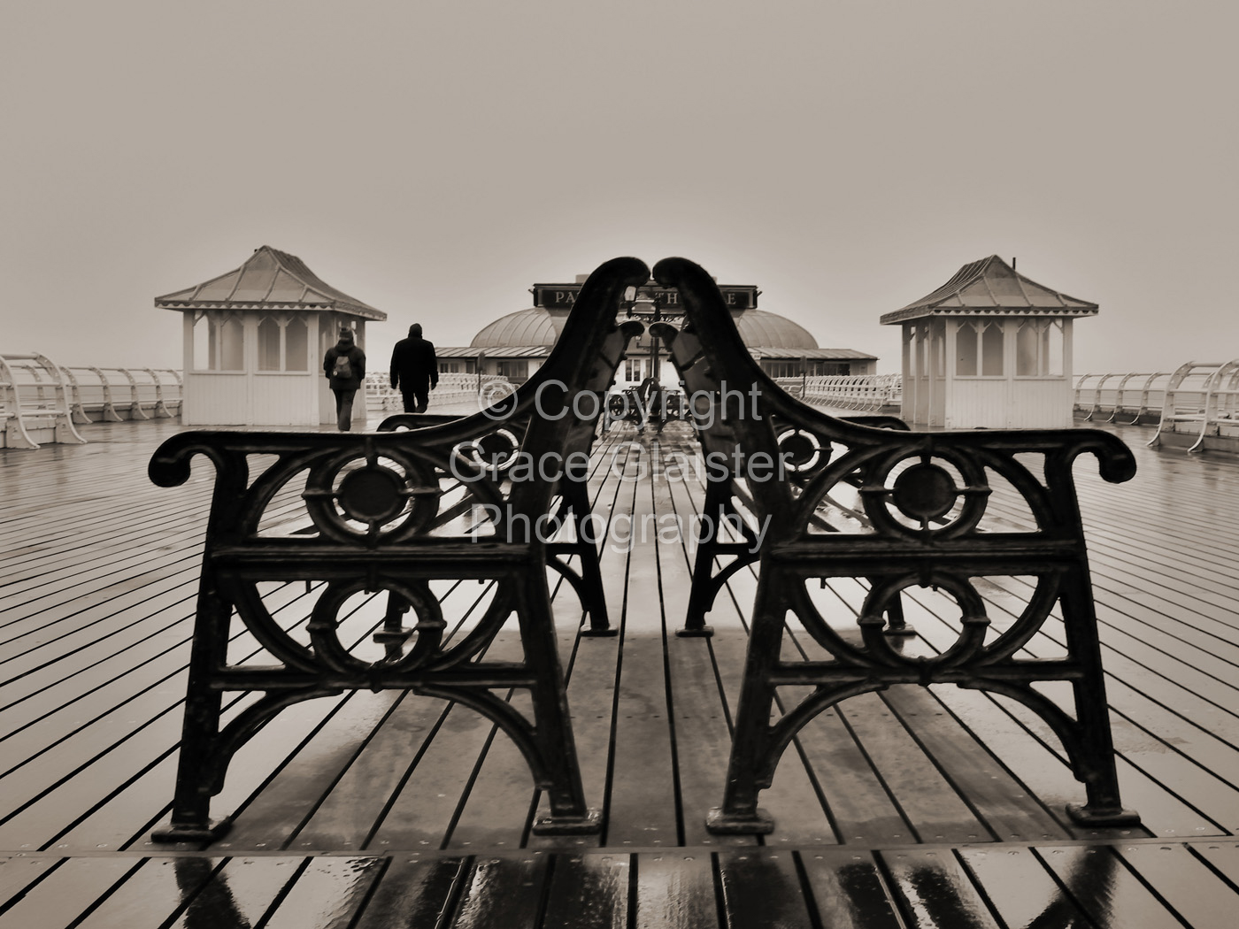 Chilly in Cromer by Grace Glaister