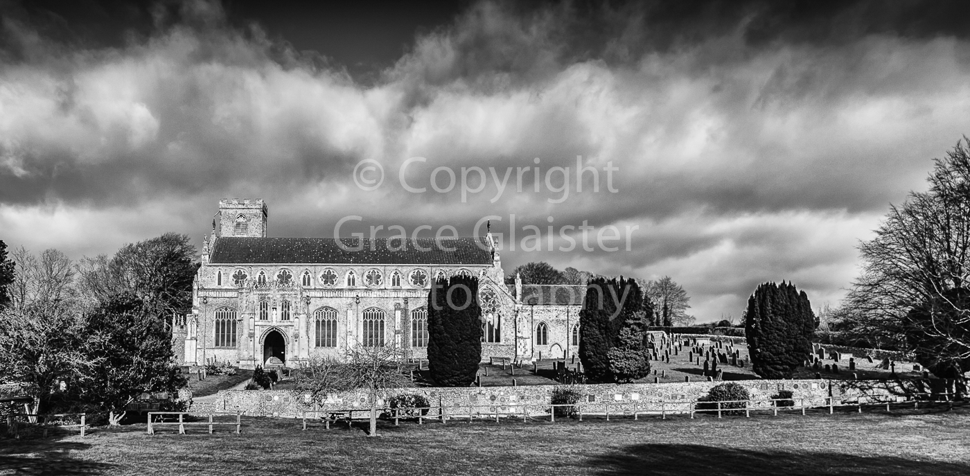 Cley Church by Grace Glaister