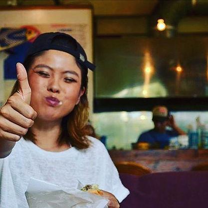 キャプテンカンガルー沖縄!_#2016年ベスト美味しい顔アワード賞#ハンバーガー