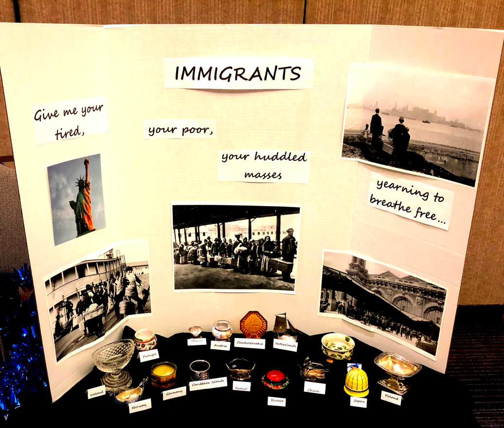 Convention Display - Immigrants