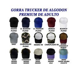 GORRA DE ALGODON TRCUKER