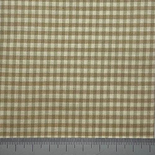 Small check cotton print