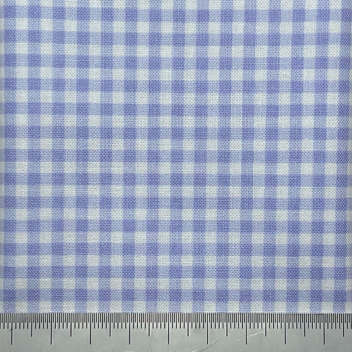Lilac gingham cotton print