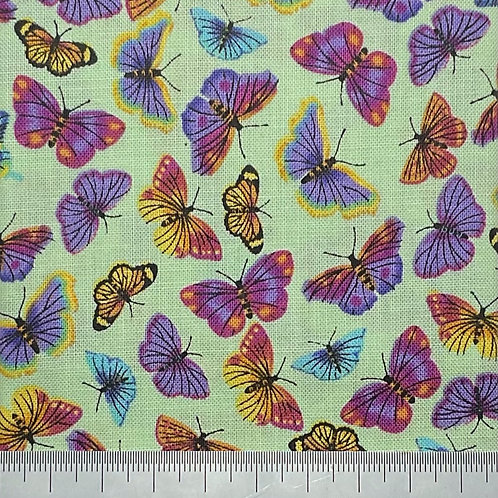 Butterfly cotton print