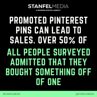 PROMOTED PINTEREST PINS CAN LEAD TO SALE