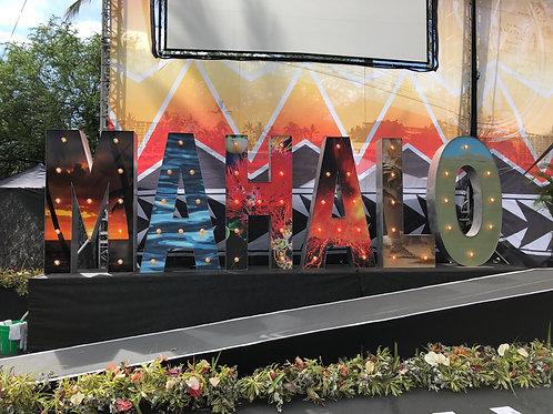 MAHALO Sign