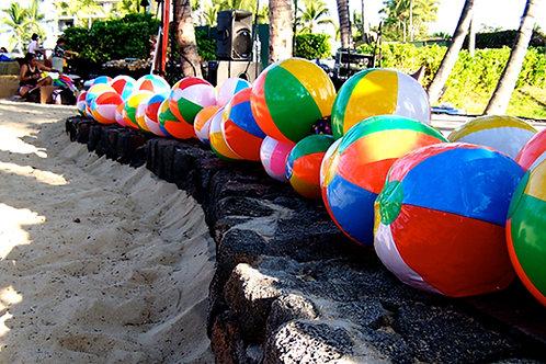 Beachball Garland