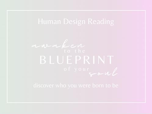 Human Design Gift Voucher