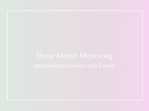 3 Month Mentoring