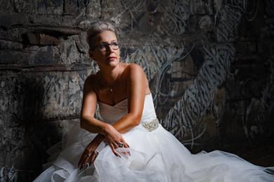 Fotoshooting der Braut