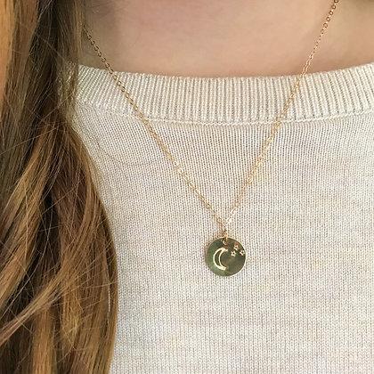 Moon + Stars Necklace
