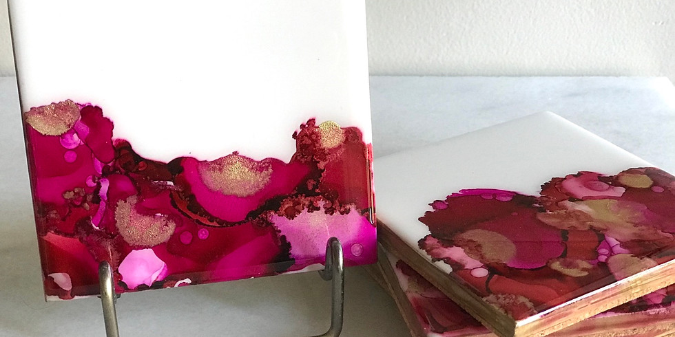 PRIVATE EVENT: Alcohol Ink Workshop