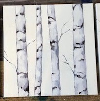 White Birches II