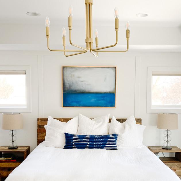 Bedroom retreat in Minneapolis, MN