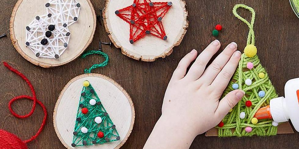 AFTER SCHOOL WORKSHOP: Holiday String Art Ornaments