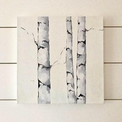 White Birches I