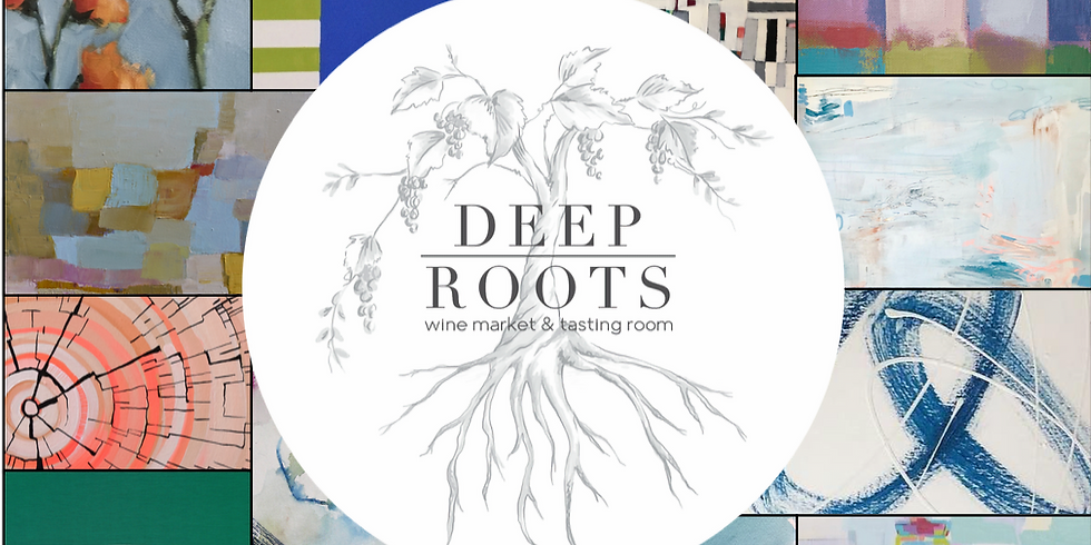 Popup Art Show at Deep Roots in Historic Roswell
