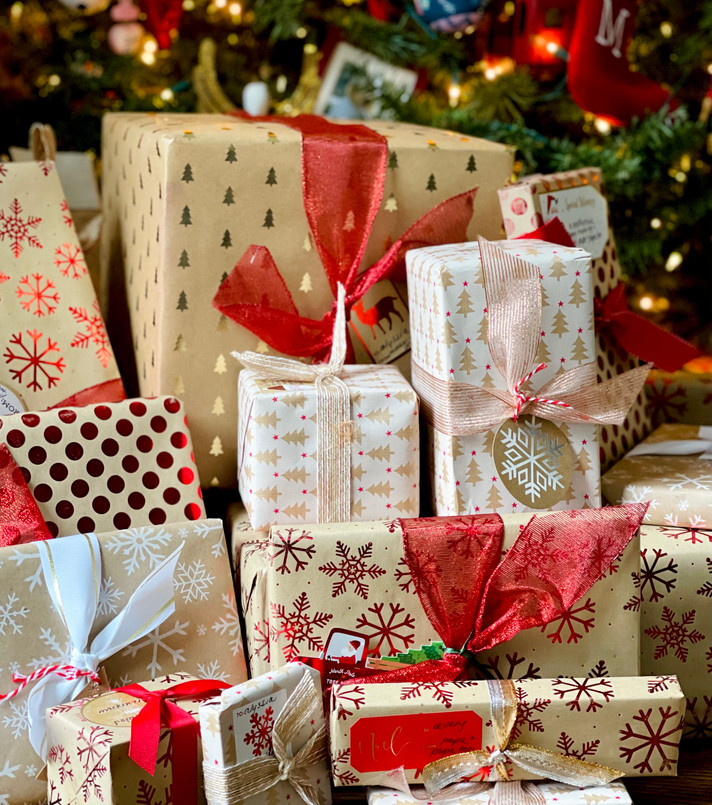 Beautifully Wrapped Gifts