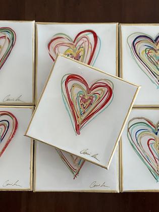 Messy Hearts 5x5