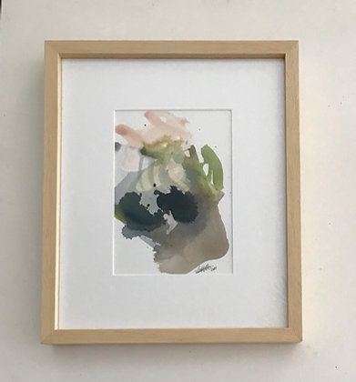 Framed Watercolor I