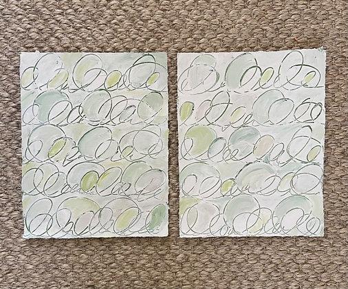 Green Cursive I & II