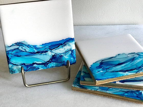 Blue Waves | Coasters