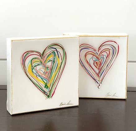 Messy Hearts 6x6