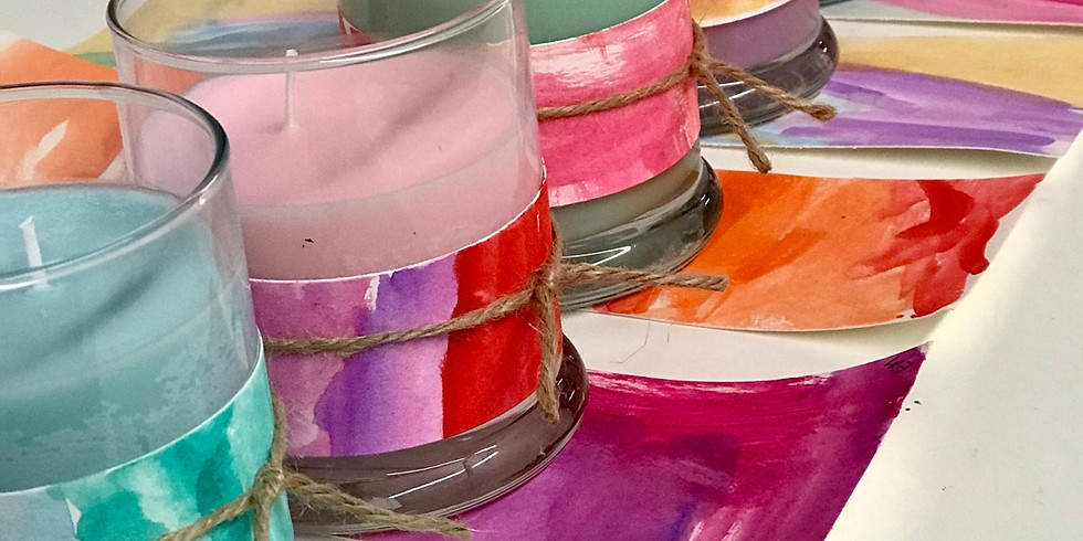 Children's Workshop: Candle Making + Watercolor
