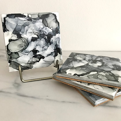 Black & Gray | Coasters