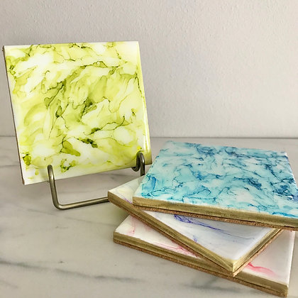 Pastel Marble | Coasters