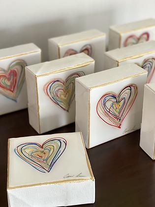 Messy Hearts 4x4
